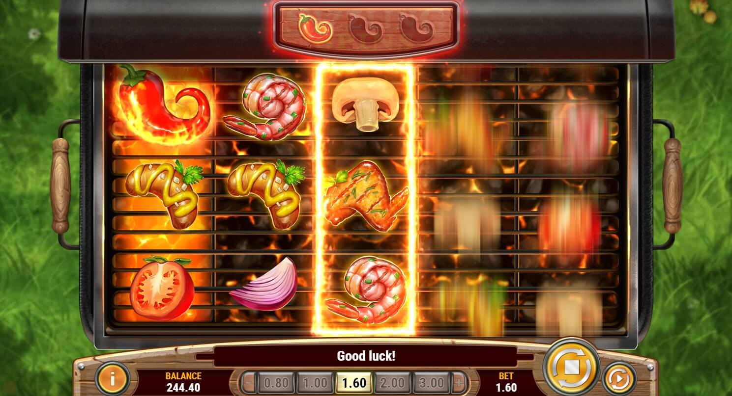 sizzling spins slot screen shot