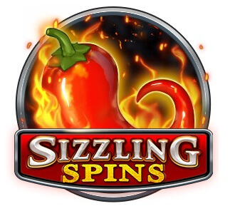 sizzling spins slot play n go